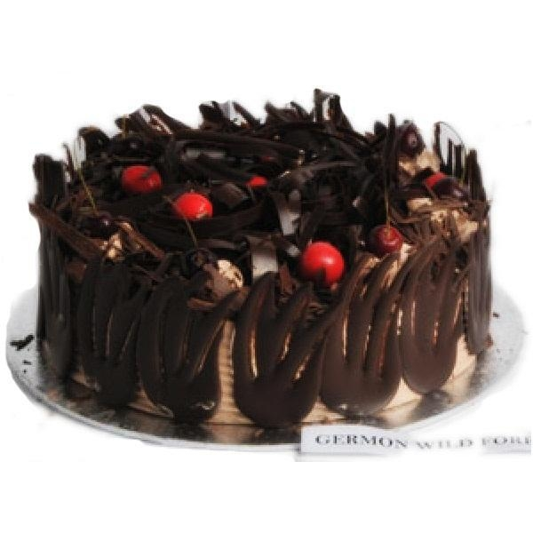 Eggless 1 Kg German Wild Forest Cake
