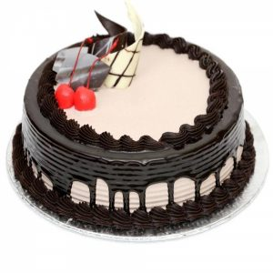 Eggless Half Kg Chocolate Cream Cake