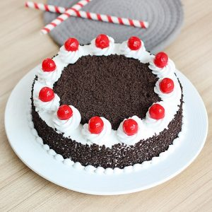 Eggless 1kg Black Forest Cake