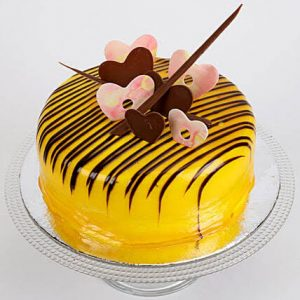 Eggless 1 Kg Butterscotch Cake